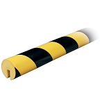 Knuffi Model B Corner bumper guard Black/Yellow 1 Meter