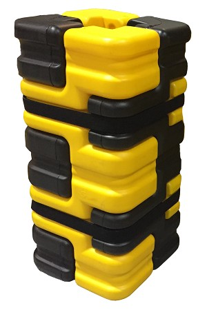 Column Sentry FIT Small Black/Yellow